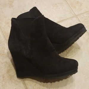 Ankle boot wedge